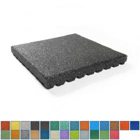 EPDM Fallschutzmatte 10 cm dick, Wunschfarbe