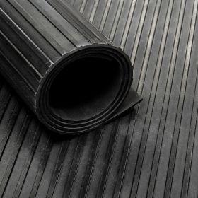 Gummiläufer, breite Rillen, rutschfest, 100 cm breit