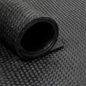 Gummiläufer/Gummimatte - Rolle von 18m² - 10mm Hammerschlag - Breite 180cm