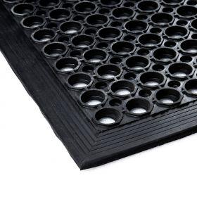 Gummi-Ringmatte - 80x120cm - Anlaufkante
