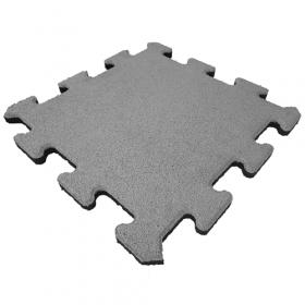 rubber puzzeltegel grijs 25 mm