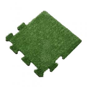 Kunstrasen Bodenbelag 50x50 cm Seitenstück