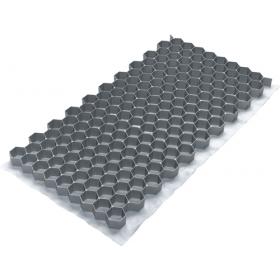 grindmat gravel fix lite 40 x 80 cm grijs
