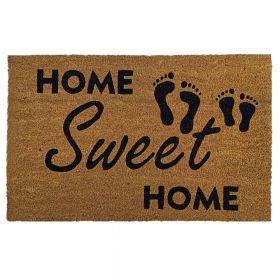 Kokosmat 'Home Sweet Home' - 50x80 cm