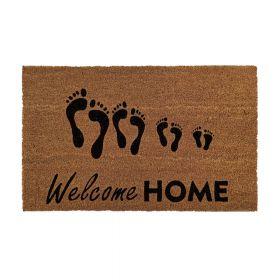 Kokosmat 'Welcome Home' - 40x60 cm
