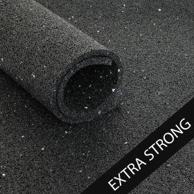 Beschermmat *extra strong* - rol van 12,5 m2 - Zwart granulaat