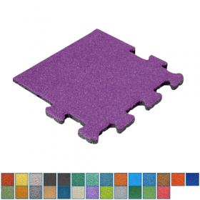 EPDM-Fallschutzmatte - Seitenstück - 50x50cm - 50mm