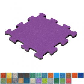 EPDM-Fallschutzmatte - Mittelstück 25mm Wunschfarbe