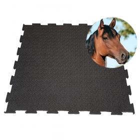Stallmatten - Puzzle - 100 x 100 cm - Funktionale Matte für die Pferdebox