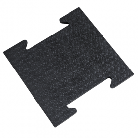 Gummi-Stallmatte - Mittelstück - 39x39 cm - 25mm - Verbund-System