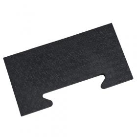 Gummi-Stallmatte - Seitenstück - 39x18 cm - 25mm - Verbund-System