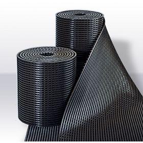 Yoga Roll rubber werkplaatsmat op rol / roostermat - 91 cm breed
