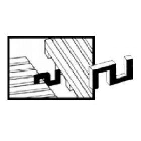 Yoga Roll verbindings clips voor roostermat op rol - Type 2 (L+B) - 10 stuks 1