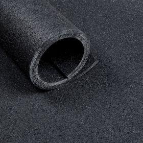 Fitness-Boden – Bodenbelag für Fitnessstudio – 10 mm - Rolle 10m² - 100 x 1000 cm - Anthrazit
