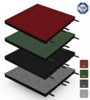 Fallschutz-Matte - Stecksystem - 50x50cm - 45mm - Systemboden für Spiel- und Sportplätze